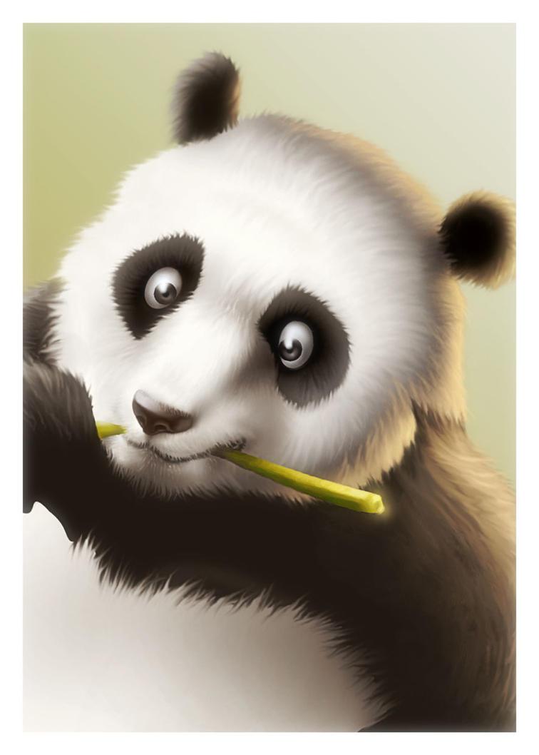Panda by LASAHIDO