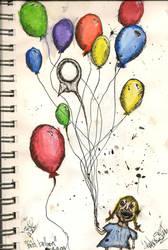 Bird Balloon by AndrewLahlum