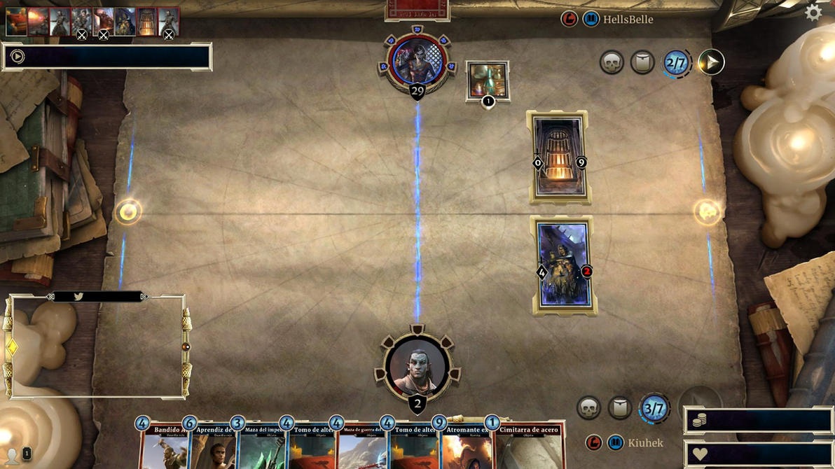 The Elder Scrolls: Legends Overlay for Twitch by Kiuhek