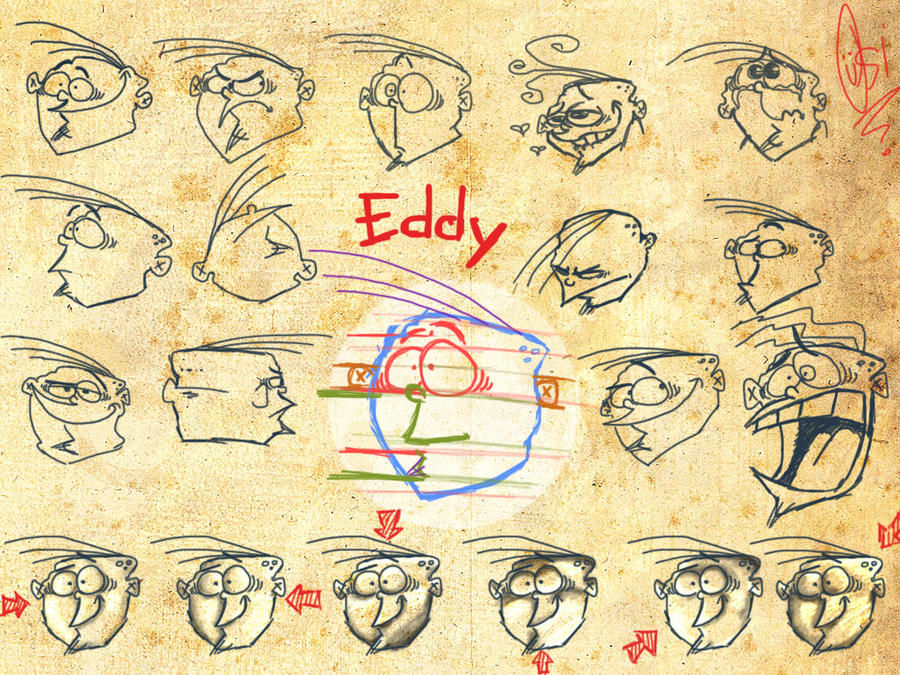 Scribblenetty Drawing : Eddy s face by scribblenetty on deviantart