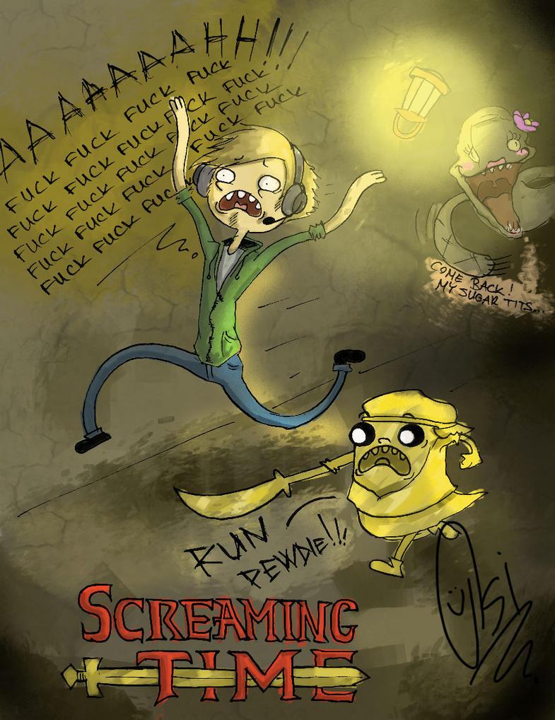 SCREAMING TIME by ScribbleNetty