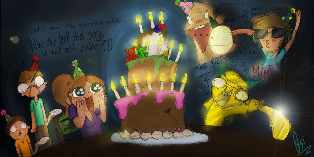 Scribblenetty Drawing : Birthday doodle by scribblenetty on deviantart