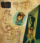 CTK: Among The Sleep - Sketches by ScribbleNetty