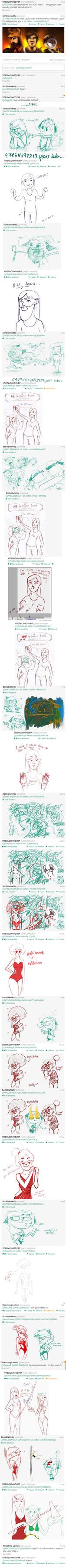Drawing Battle on Twitter (Part 4) by ScribbleNetty