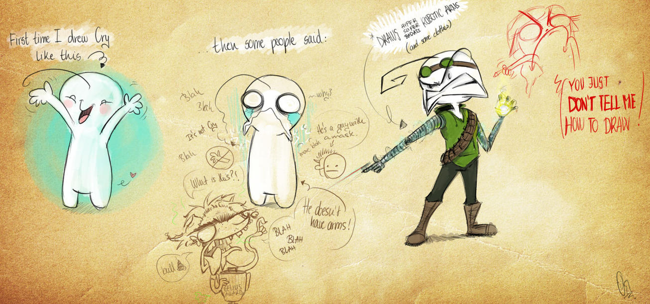 Scribblenetty Drawing : That s how i draw cryaotic by scribblenetty on deviantart