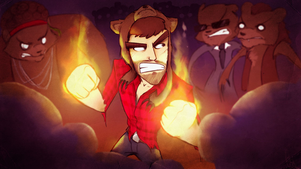 Scribblenetty Drawing : Cinnamontoastken fist of awesome thumbnail by
