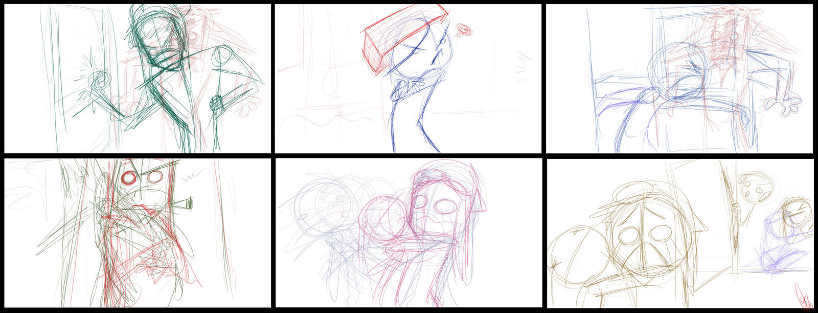 Short animations? - Sketches by ScribbleNetty
