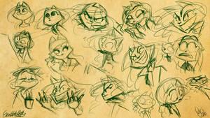 ScribbleNetty - Sketches - 2 by ScribbleNetty