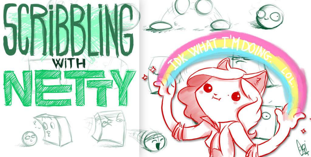 Scribbling with Netty by ScribbleNetty