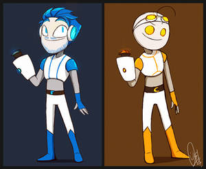 Portal2 /w Pewds and Cry (ReDesign)