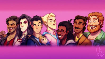 Dream Daddy: A Dad Dating Simulator - Fanart :p