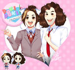 DDLC Fanart - Arin and Dan (GameGrumps)
