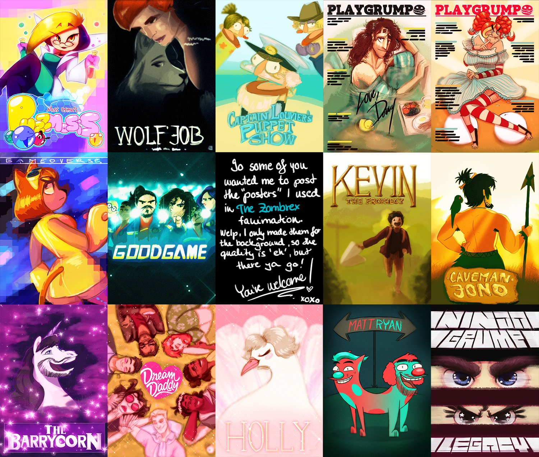 The Zombrex Fanimation - EasterEgg Posters by ScribbleNetty