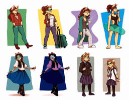 ScribbleNetty - Outfits by ScribbleNetty