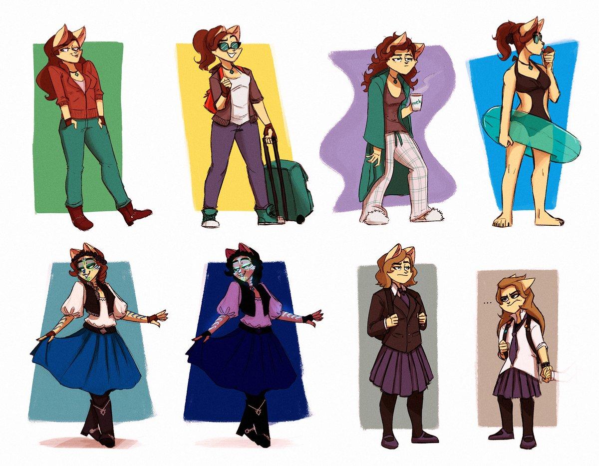 ScribbleNetty - Outfits by ScribbleNetty