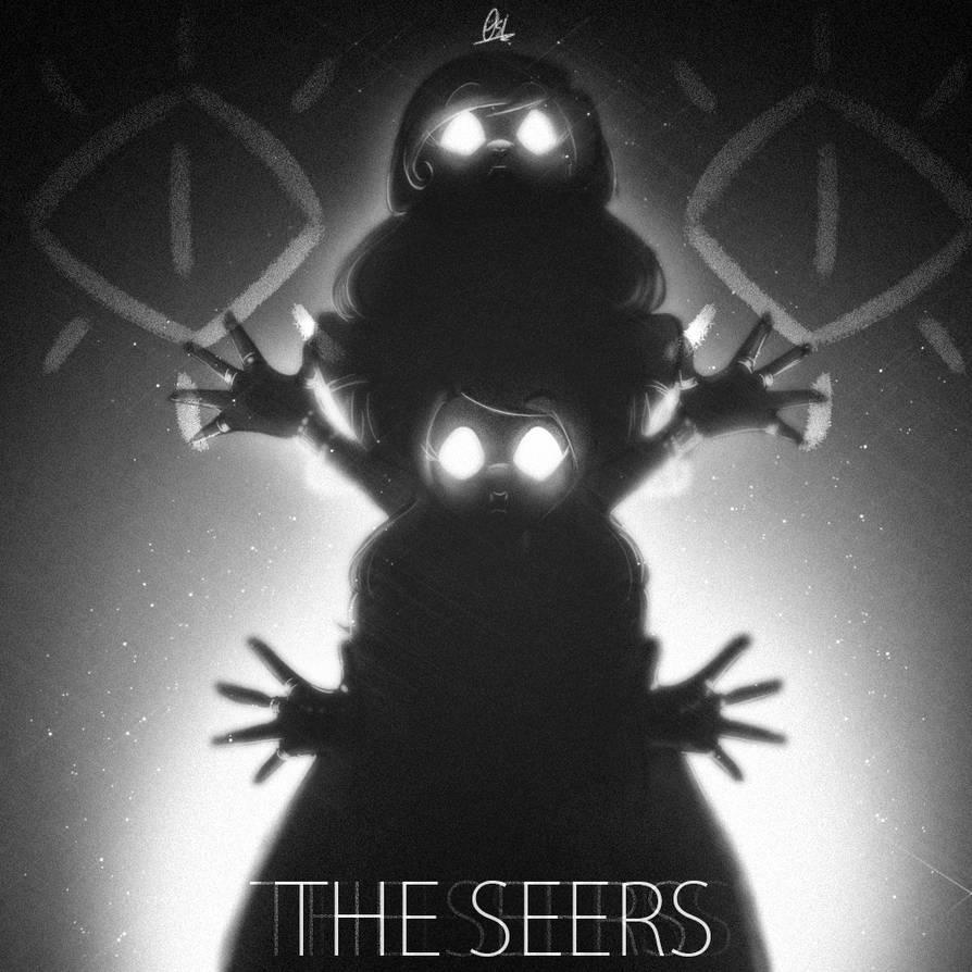 Silhouette scribble - The Seers by ScribbleNetty