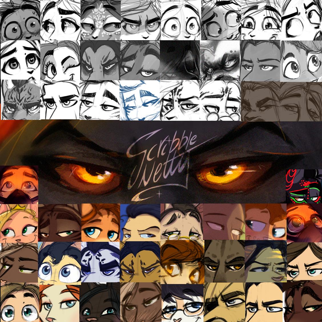 ScribbleNetty - #eyememe by ScribbleNetty