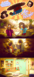 Alex the Helicopter Fanimation with GameGrumps by ScribbleNetty
