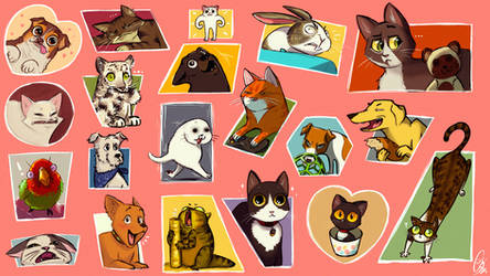 Scribs Scribbles - Animals - Part1