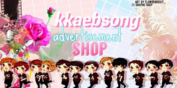 Kkaebsong advertisement shop