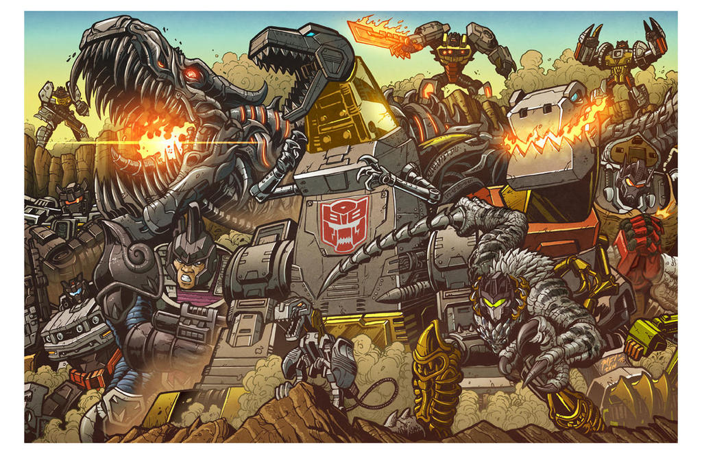 All Hail Grimlock! by trialsgirl10