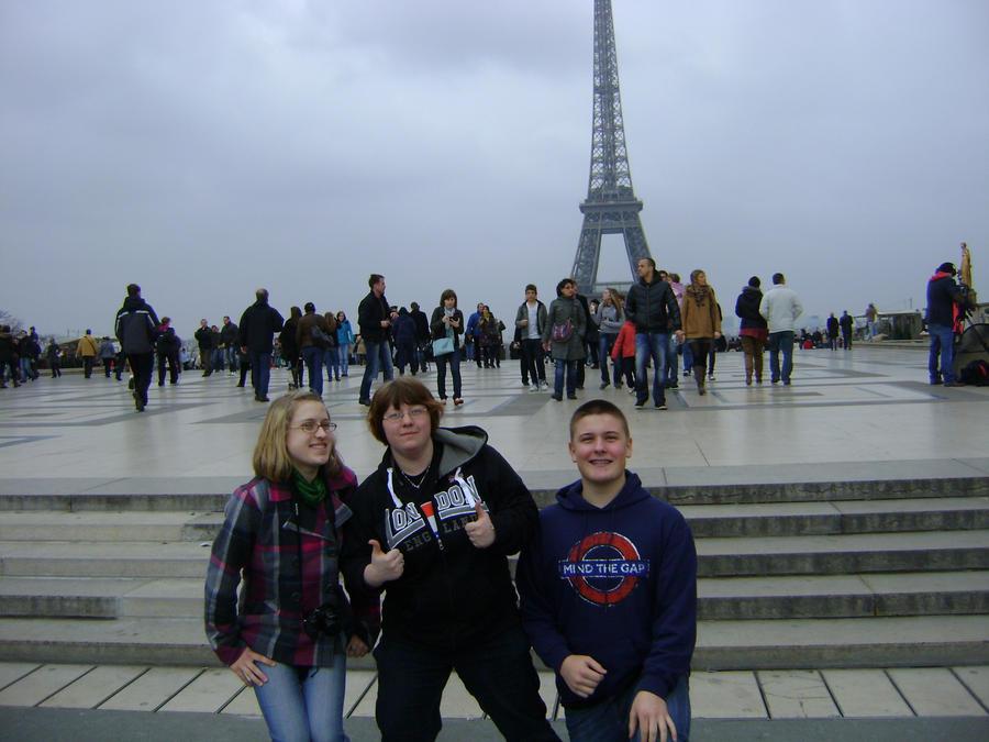 Eiffel Tower Trio