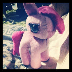 Pinkamena Plush Doll Commission