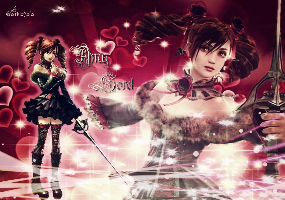 Wallpaper Amy Sorel Soul Calibur by GothicYola