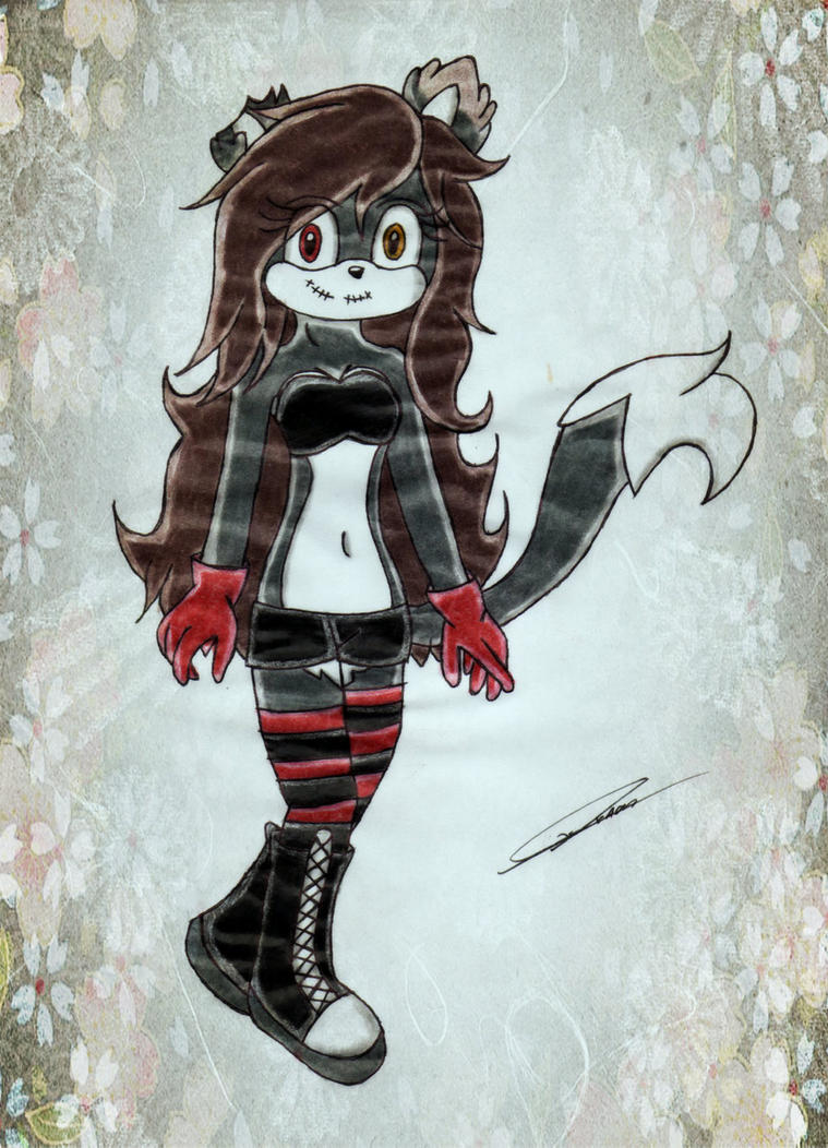 Nahomi the Cat :AT: by GothicYola
