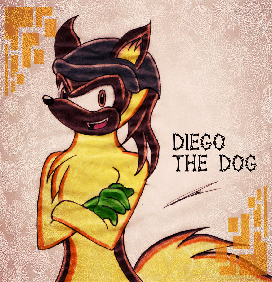 Diego the Dog :RQ: by GothicYola