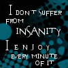 Insanity Icon by spreading-rumors