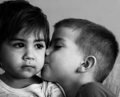 kiss .. by m4rea
