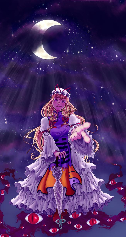 Night Falls ~ Evening Star v2 by Strawberry-Itchiko