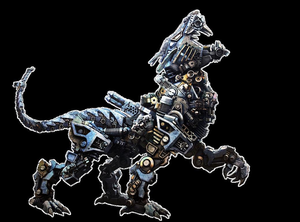 Sci-fi cyborg animal by TeQiLa15