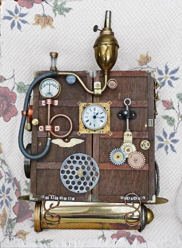 Как сделать поделку машину времени