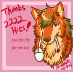 Thanks 2222 Blog Hits