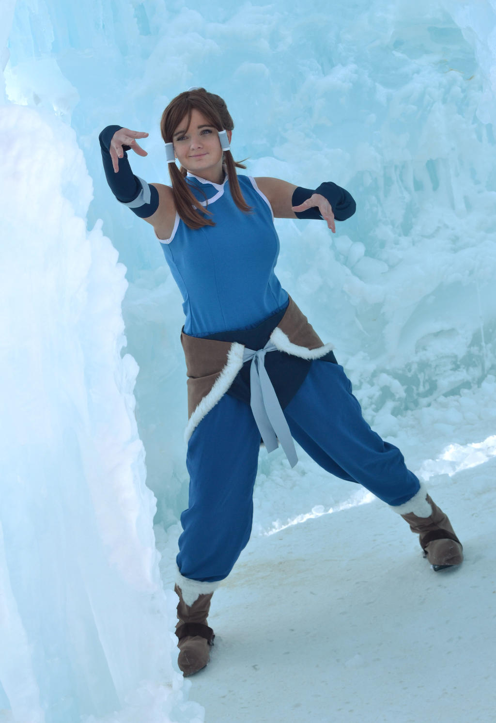 Korra: Icy Terrain by SachikoPudding