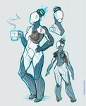 [Warframe] She can't drink coffee