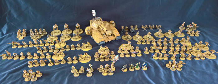 Rogue Trader Imperial Guard Army
