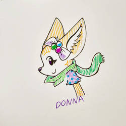 Donna Winterplay Outfit doodle
