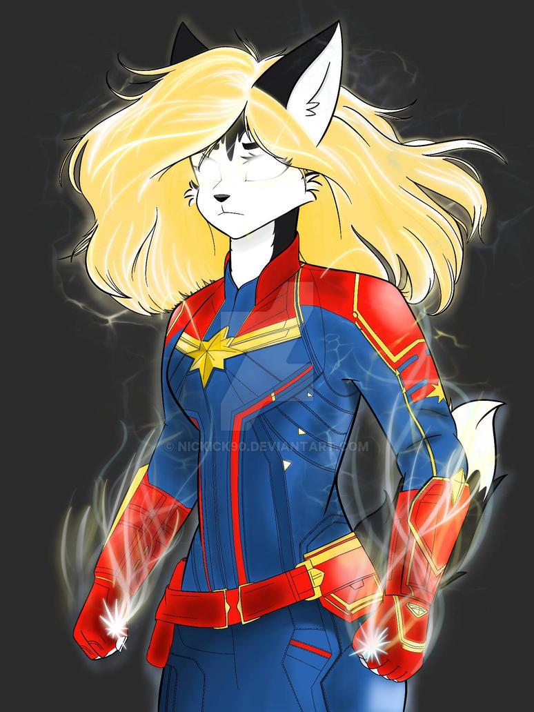 Captain Marvel Husky XD by nickick90