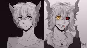 [Art Trade] Tatsuo for WolfmoonNight17