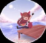 [Art Trade] Fox for Dark-Blue-Fox