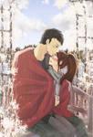 [Art Trade] Couple for KitkuArt