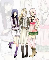 Fashion girls by Sakura-san17