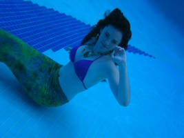 mermaid underwater 2 by winterwhiterose