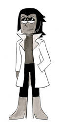 Inktober Day 1 (Professor Venomous) by penguin04