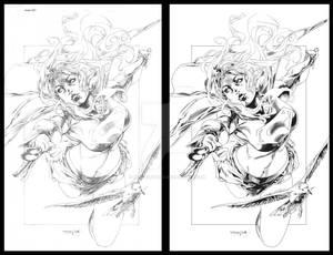 Super girl Inking
