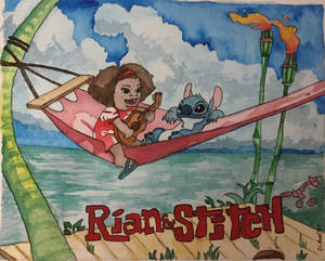 Rian and Stitch
