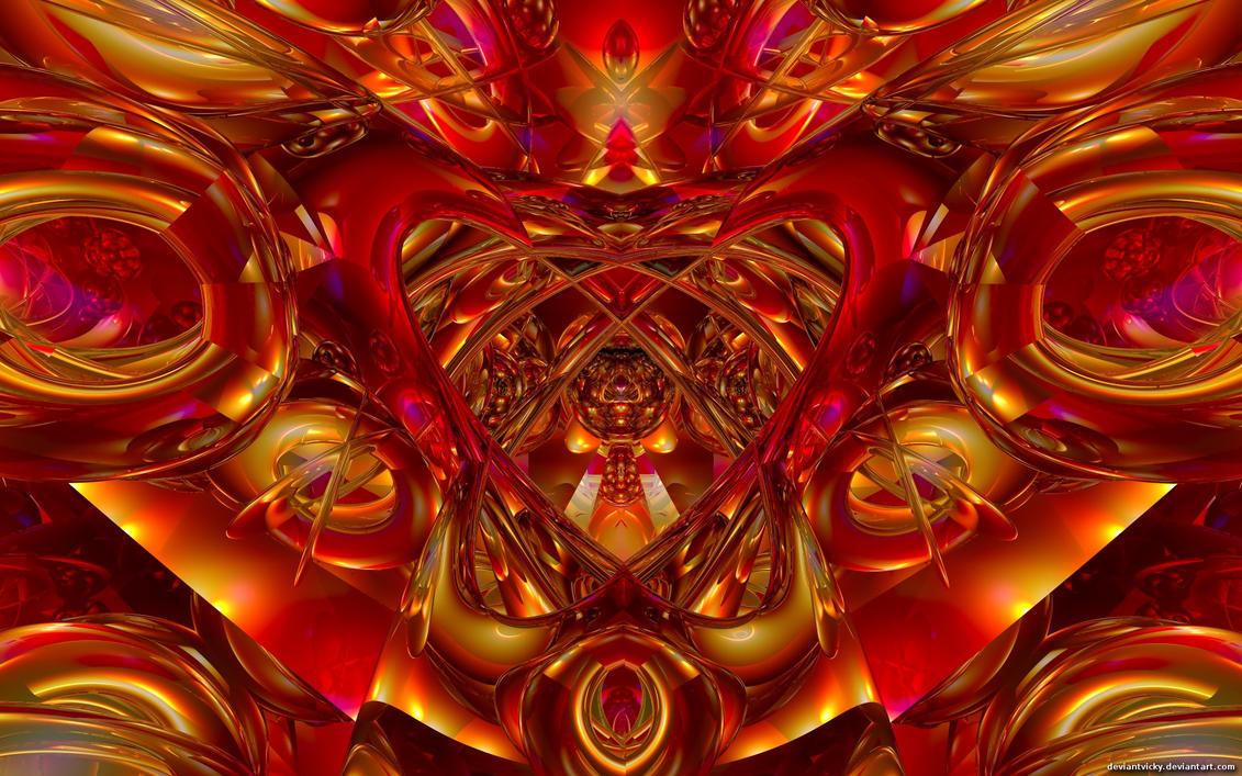 Symmetrical Wide by VickyM72